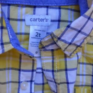 Carter's Shirts & Tops - Toddler boy Shirt